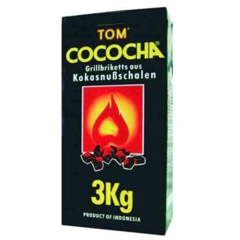 Carbuni cocos narghilea Tom Cococha 3 kg yellow big box